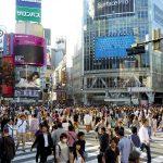 Incrocio pedonale Shibuya a Tokyo