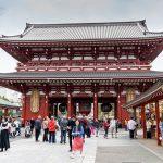 Tempio buddista Senso-Ji a Tokyo