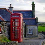 Tipica cabina del telefono