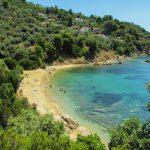 Bellezze naturali e il verde dell'isola di Skiathos