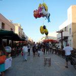 Passeggiata in centro a Lampedusa
