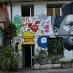 Street art nel quartiere Isola