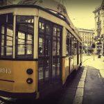 I caratteristici tram di Milano