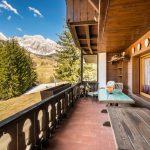 Balcone con vista sulle Dolomiti
