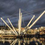 Porto antico di Genova, zona portuale riprogettata da Renzo Piano