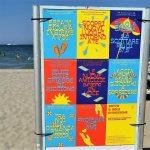 Spiaggia libera a Riccione
