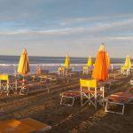 Spiaggia a Riccione
