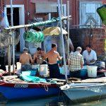 Pescatori a Chioggia
