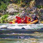Rafting nel parco nazionale del Pollino