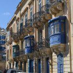 I colorati balconi dell'architettura maltese