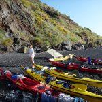 Kayak sulla spiaggia [Photo by Eugenio Viviani]