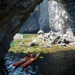 Kayak alle isole Eolie [Photo by Eugenio Viviani]