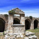 Pozzo dell'abbazia sull'isola San Nicola