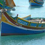 Le tradizionali imbarcazioni dell'isola