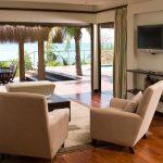 Il salotto delle ville all'Anantara Bazaruto Island Resort