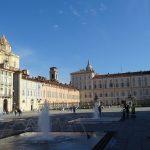Piazza Castello e il palazzo Reale