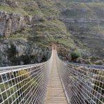 Il ponte tibetano di Matera