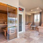 Sauna a Villa Tuscania