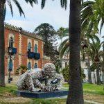 Opera di Paola Epifani in arte Rabarama, Villa Genoese Zerbi, lungo mare di Reggio Calabria