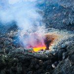 Attività esplosiva del vulcano