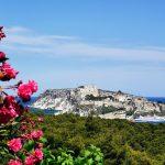 Vista di San Nicola da San Domino (isole Tremiti)