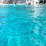 Colore del mare alle isole Tremiti