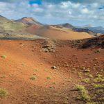 Scorci del parco nazionale Timanfaya