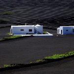 Tipiche case dell'isola