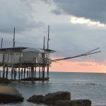 Trabocco lungo la costa dei Trabocchi, in Abruzzo