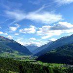 Panorama della Valtellina