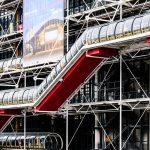 Centro Pompidou, nel quartiere Les Halles