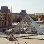 Museo del Louvre con la famosa piramide