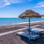 Spiaggia del 9 Muses Santorini Resort