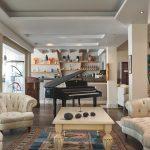Area interna dell'Alpiblu Kivo Art & Gourmet