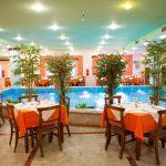 Zona ristorante dell'Eden Village Kournas Beach