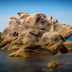 Le rocce di granito modellate dal vento della Gallura