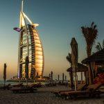 Uno dei simboli di Dubai, il Burj Al Arab