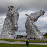 """The Kelpies"" a Falkirk [Foto di Dyffryn da Pixabay]"