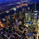 Veduta di Manhattan by night