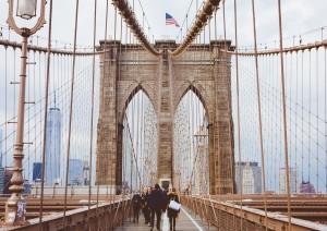 New York: Memoriale Dell'11 Settembre, Wall Street, Ponte Di Brooklyn.jpg