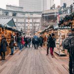 Mercatini di Natale a Columbus Circle